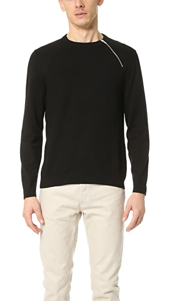 The Kooples Sport Cotton Rice Stitch Sweater