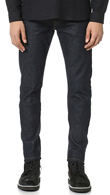The Kooples Fitted Denim Jeans