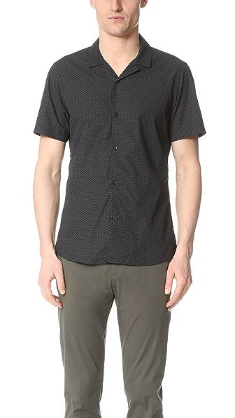 The Kooples Printed Short Sleeve Shirt