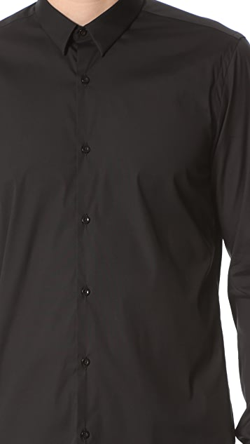 The Kooples Stretch Poplin Shirt