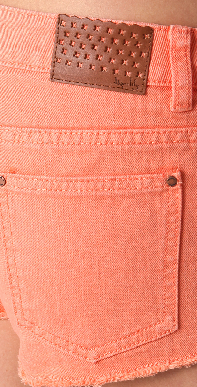 090d9fa39c Overdyed Carranza Denim Shorts