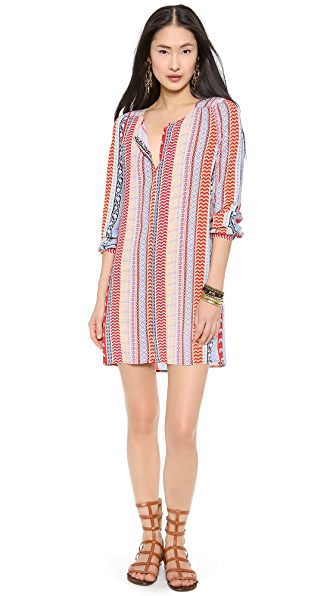 Tigerlily Ajrakh Shirtdress