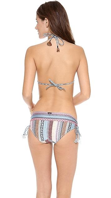 Tigerlily Ajrakh Tara Bikini Top