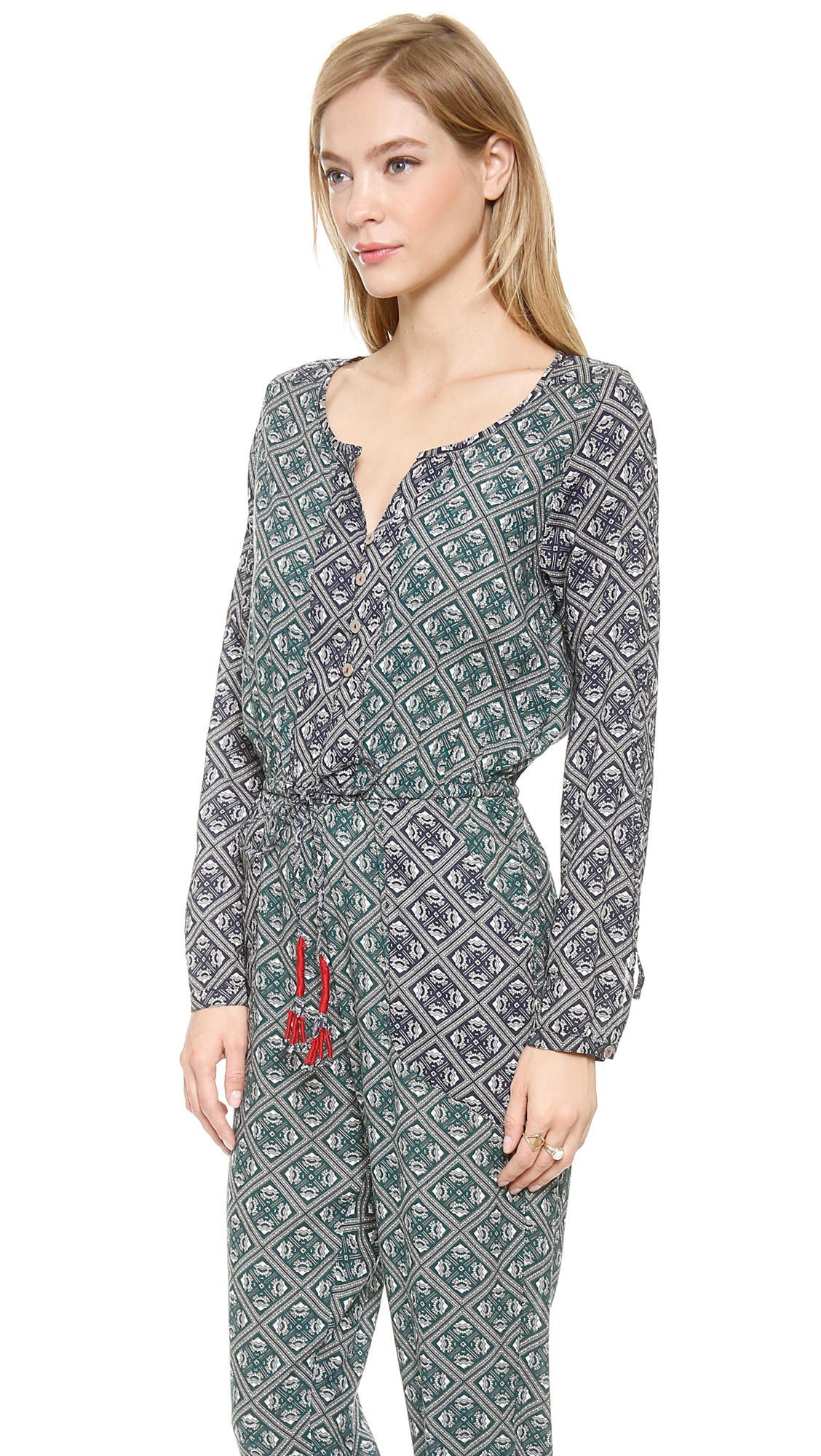 ad793347e7 Tigerlily Grimaud Paisley Jumpsuit