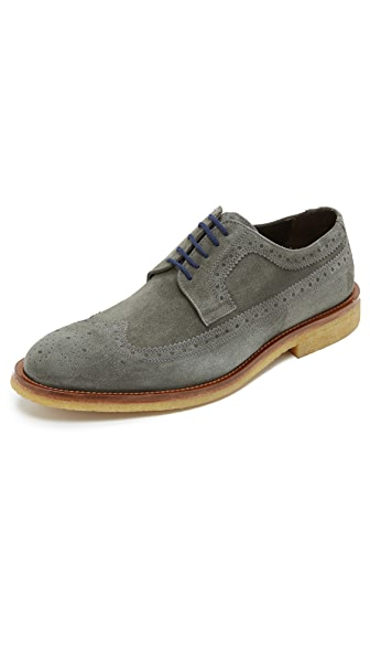 To Boot New York Bergen Suede Wingtips