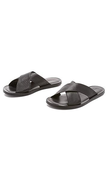 To Boot New York Bond Slide Sandals