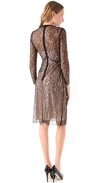 Tocca Violet Lace Dress