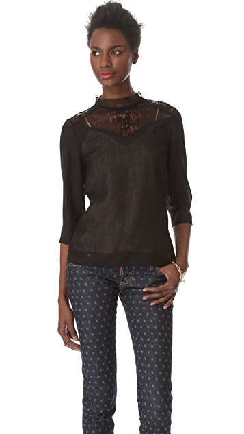 Tocca Snake Blouse
