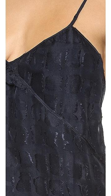 Tocca Arabesque Ruffle Dress