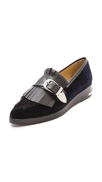 Toga Pulla Fringe Loafers