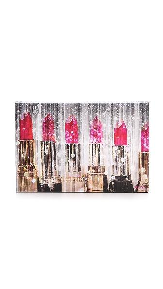The Oliver Gal Artist Co. Lipstick Collection ModernArte Sign