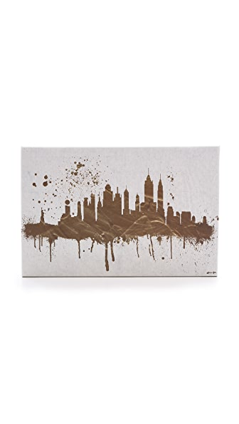 The Oliver Gal Artist Co. NY Skyline Sign