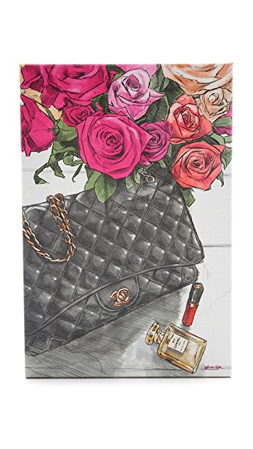 The Oliver Gal Artist Co. Fashionista's Favorites Sign