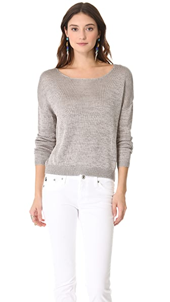 Top Secret Santiago Zip Back Sweater