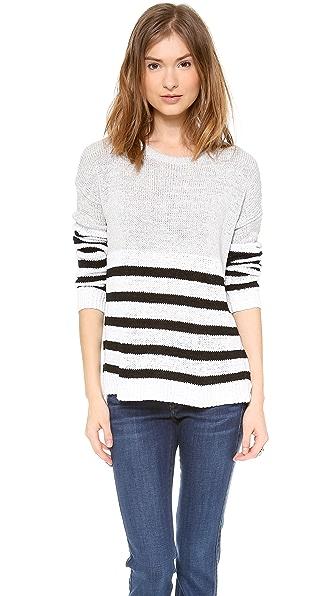 Top Secret Naples Striped Sweater