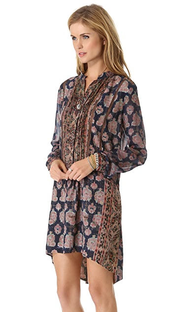 Burning Torch Florentine Tunic Dress