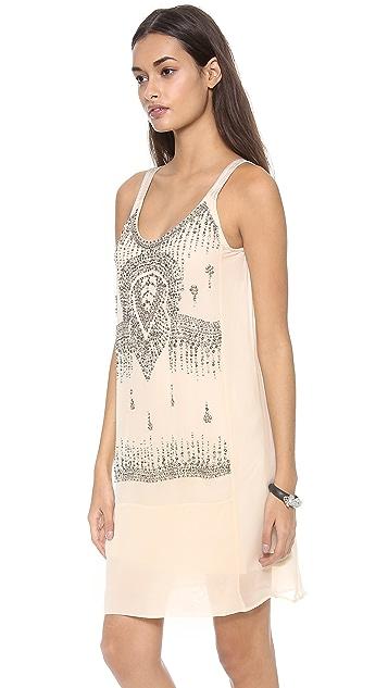 Burning Torch Rella Sun Embellished Dress