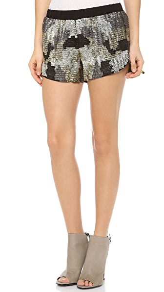 Burning Torch St. Lucia Shorts