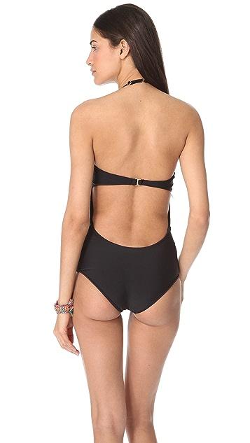 Tori Praver Swimwear Cactus One Piece Swimsuit