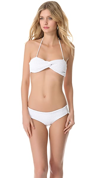 Tori Praver Swimwear Violet Bikini Top