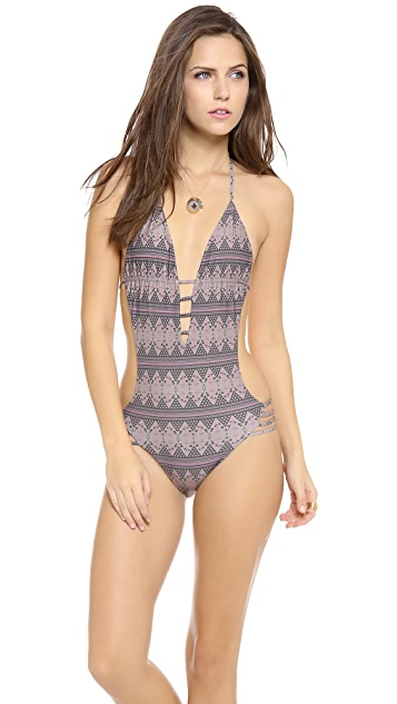 Tori Praver Swimwear Agave One Piece Swimsuit