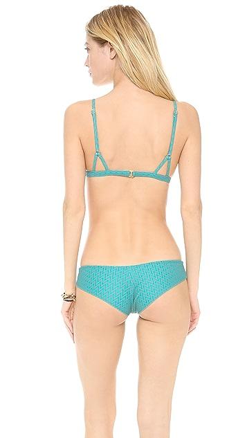 Tori Praver Swimwear Boardwalk Bikini Top