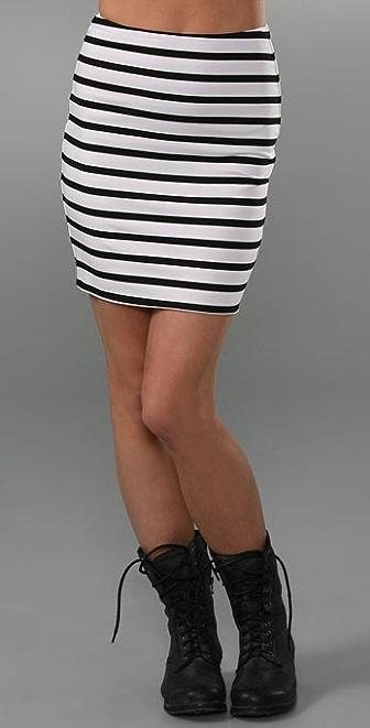 Torn by Ronny Kobo Astrid Tube Miniskirt