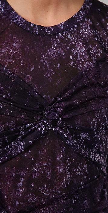 Torn by Ronny Kobo Roberta Purple Storm Dress