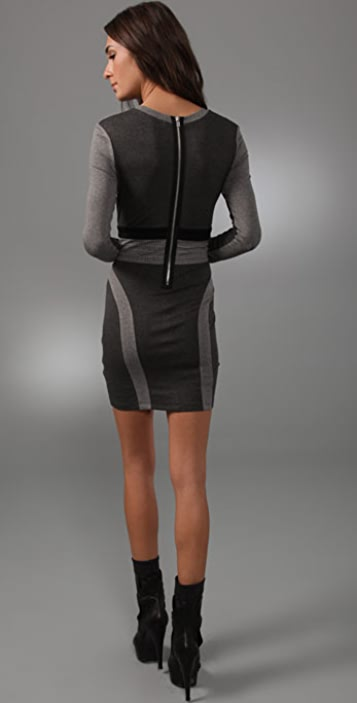 Torn by Ronny Kobo Hilary Long Sleeve Dress