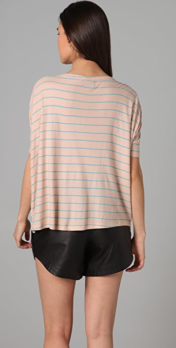 Torn by Ronny Kobo Giselle French Stripe Tee