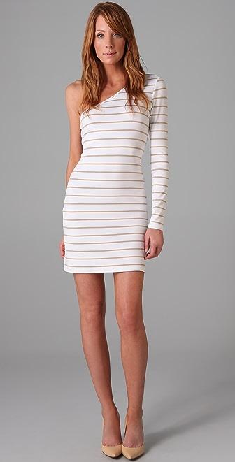 Torn by Ronny Kobo Olivia One Shoulder Dress