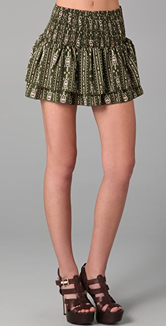 Torn by Ronny Kobo Isabella Aztec Skirt