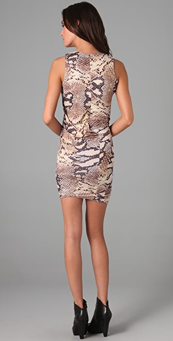 Torn by Ronny Kobo Mary Kate Twisted Dress