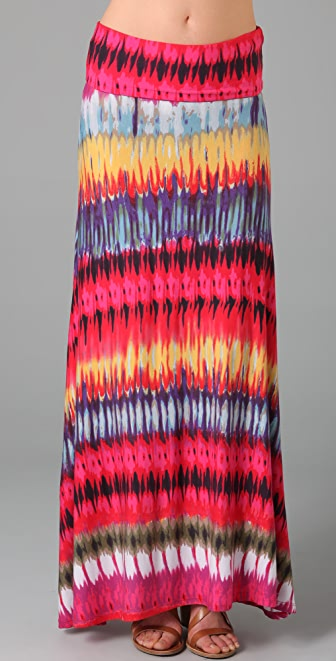 Torn by Ronny Kobo Riley Long Skirt
