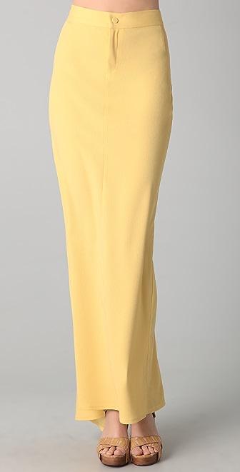 Torn by Ronny Kobo Celia Long Skirt