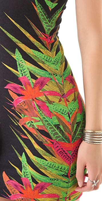 Torn by Ronny Kobo Sammy Fierce Jungle Dress