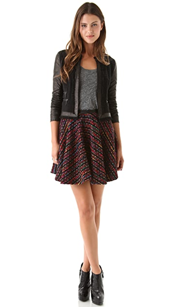 Torn by Ronny Kobo Charlotte Skirt