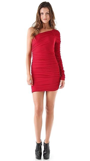 Torn by Ronny Kobo Aidan Ruched Mini Dress
