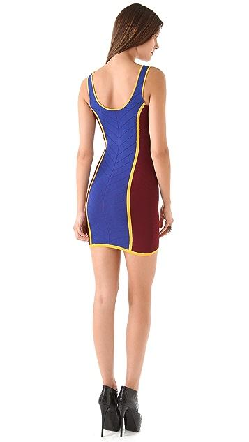 Torn by Ronny Kobo Sammy Combo Mini Dress
