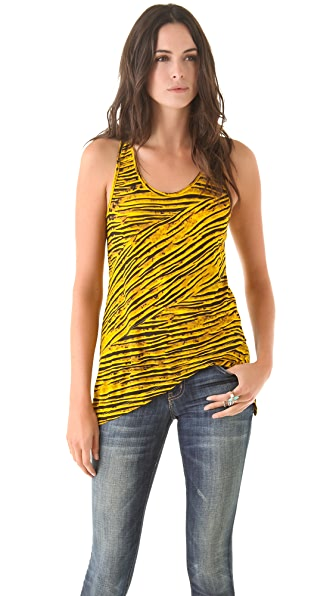 Torn by Ronny Kobo Josine Striped Tank