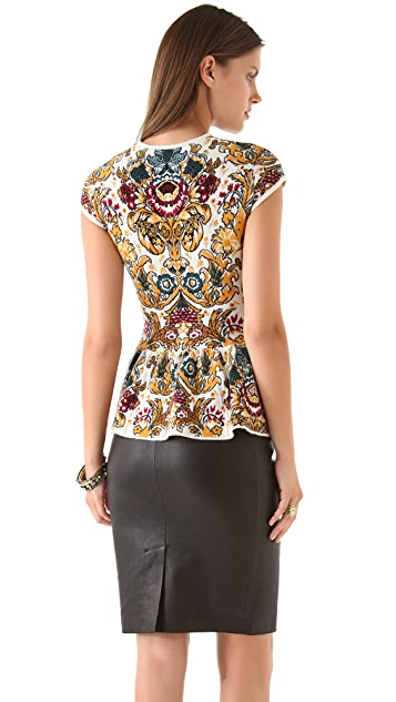 Torn by Ronny Kobo Vivienne Parisian Folklore Top