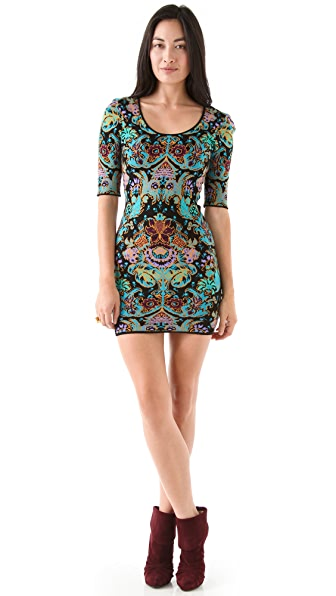 Torn by Ronny Kobo Casey Parisian Folklore Dress