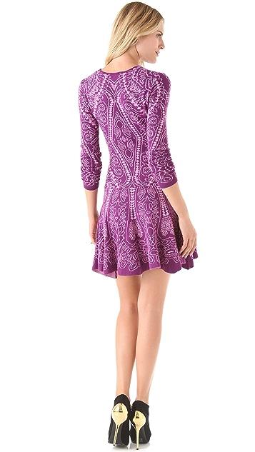 Torn by Ronny Kobo Elizabeth Royal Sweater Dress