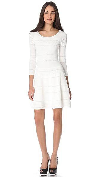Torn by Ronny Kobo Miranda Stripes Dress