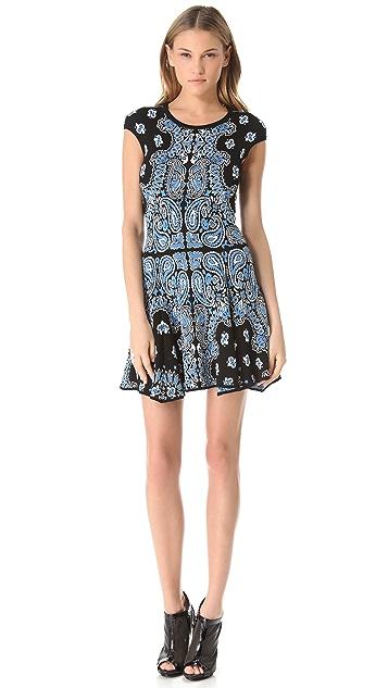 Torn by Ronny Kobo Virginia Bandana Dress