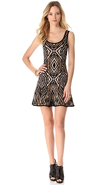 Torn by Ronny Kobo Luciana Zebra Dress