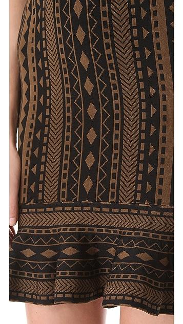 Torn by Ronny Kobo Michaela Tribal Dress