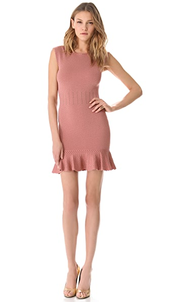 Torn by Ronny Kobo Poppy Crocodile Dress