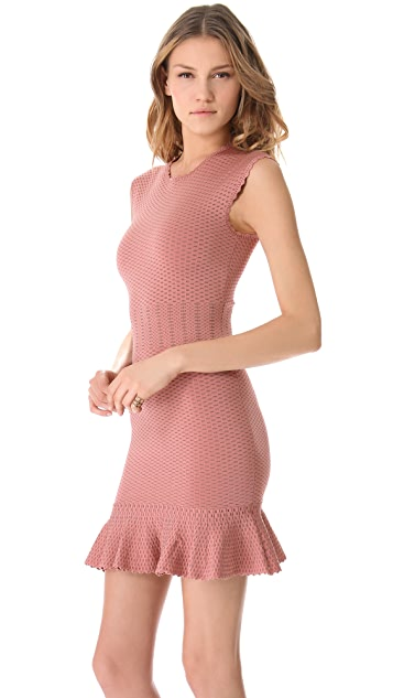 Torn by Ronny Kobo Poppy Crocodile Dress