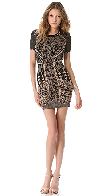 Torn by Ronny Kobo Candy Tribal Dress